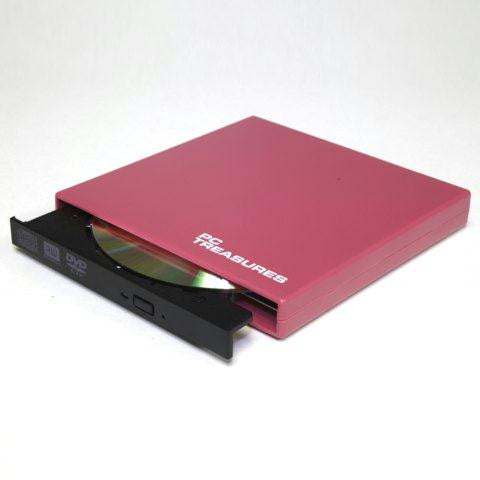 Ext DVD-RW Drive Pink