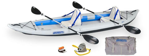 Sea Eagle 385ft 12ft Fast Track 2-Person Inflatable Kayak Deluxe