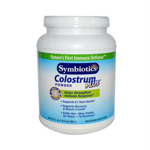 Symbiotics Colostrum Plus Powder - 21 oz