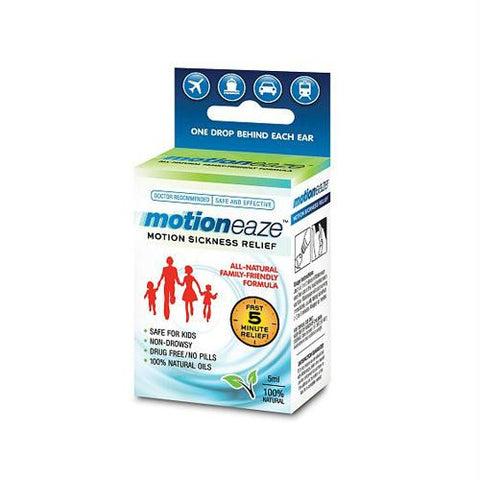 Motioneaze Motion Sickness Relief - Case of 6 - 5 ml