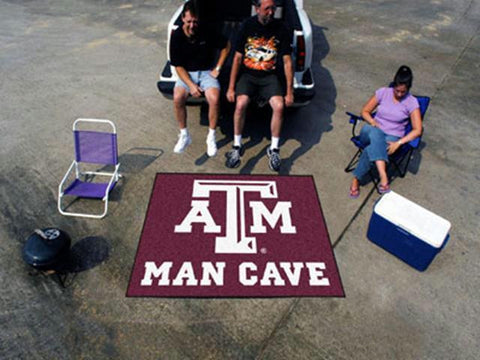 Texas A&M University  Man Cave Tailgater Rug 60x72
