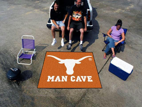 University of Texas  Man Cave Tailgater Rug 60x72
