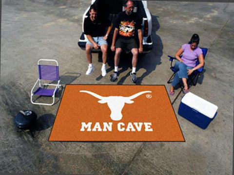 FanMats  University of Texas  Man Cave UltiMat Rug 60x96