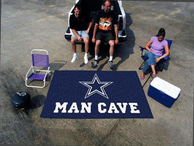 NFL - Dallas Cowboys Man Cave UltiMat Rug 60x96