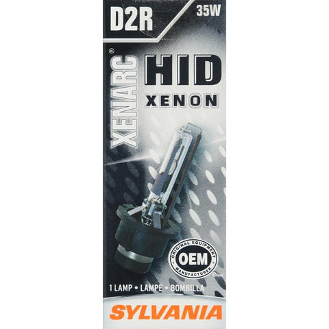 SYLVANIA D2R High Intensity Discharge (HID) Bulb, (Pack of 1)
