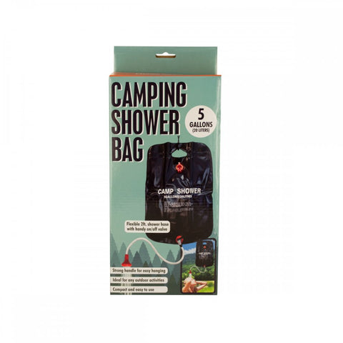 Camping Shower Bag With Flexible Hose