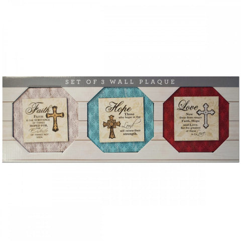 Religious Themed Printed Canvas Wall Art Set