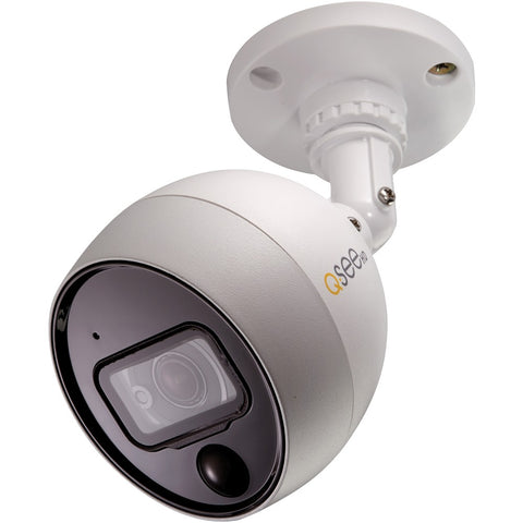Q-see 4k Ultra Hd Add-on Analog Bullet Camera With Pir Technology