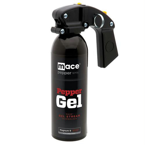 Mace Pepper Gel Distance Defense Spray, Magnum-9 model