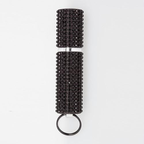 Mace Exquisite Black Rhinestone Pepper Spray, Purse model