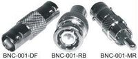 RCA FEMALE TO BNC MALE ADAPTER