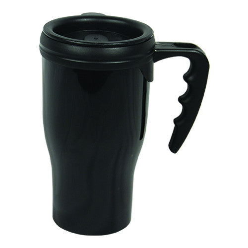 Plastic Coffee Mug Diversion Safe Black
