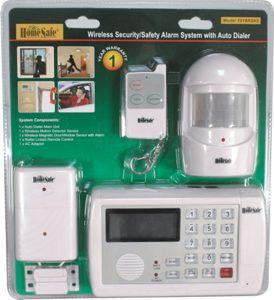 HomeSafe Wireless Home Security System