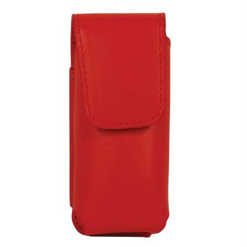 Red Leatherette Holster for RUNT Stun Gun