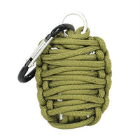 Paracord Grenade Survival Kit. The paracord grenade is here for any survival emergency situation it has 10.5 feet of 550 paracord. The