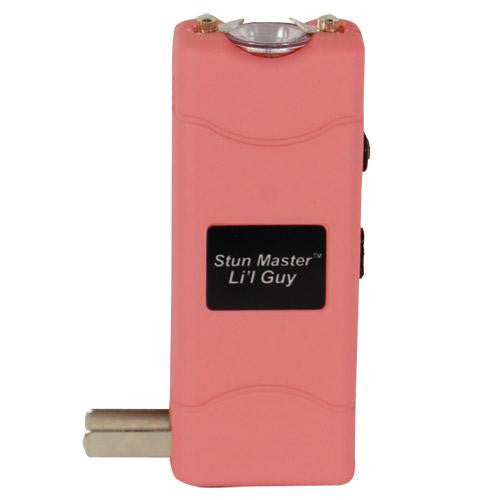 Stun Master Lil Guy 12,000,000 volts Stun Gun W-flashlight and Nylon Holster Pink