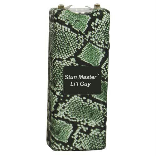 Stun Master Lil Guy 12,000,000 volts Snake Skin Stun Gun W-flashlight and Nylon Holster