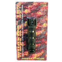 Wildfire 3-4 ounce 18% Flip top Actuator Pepper Spray Stream