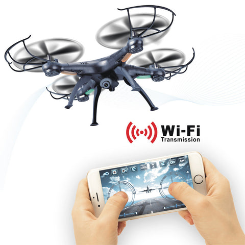 Drone  X5SW-1 WIFI HD Camera RC Quadcopter Kit FPV Real Time RC Airplanel