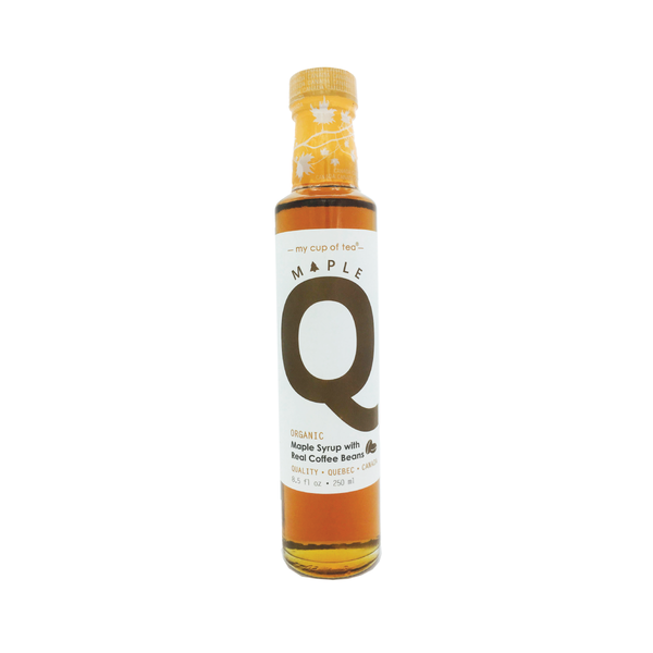Maple Q 有機咖啡楓糖漿 Organic Maple Syrup with real coffee beans 250ml - mcot