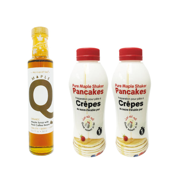Maple Q有機咖啡楓糖漿 + Maple Pancake Powder special - mcot