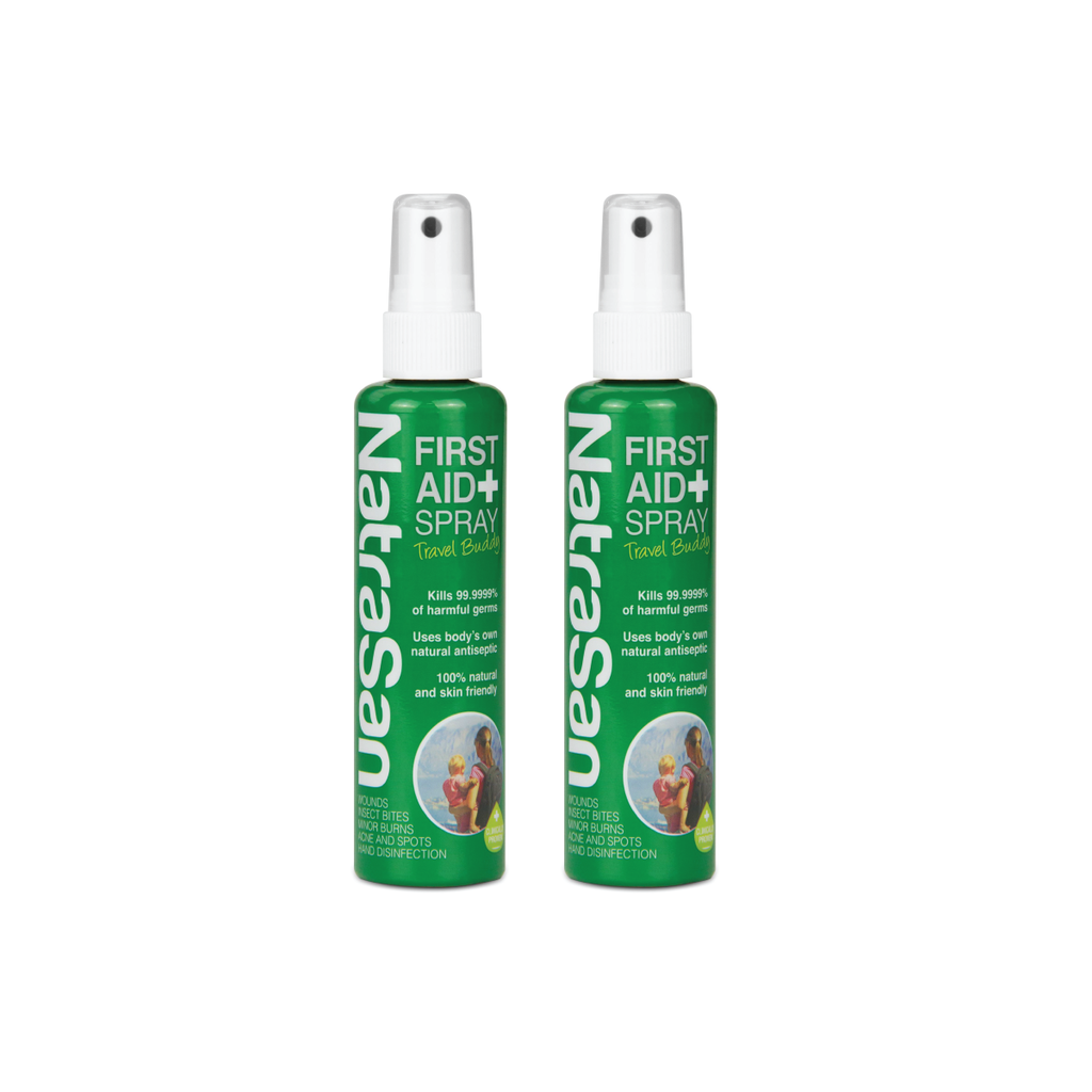 NatraSan消毒噴霧 First Aid Spray 100ml x 2 - mcot