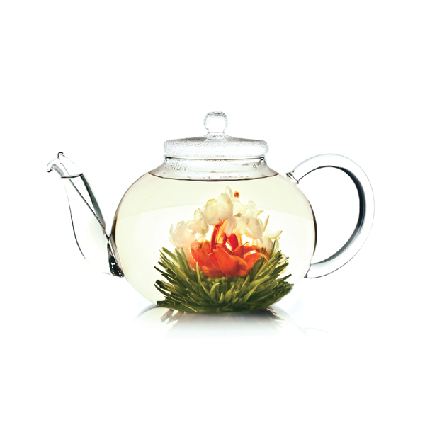 1200ml Handmade Glass Teapot - 手工製玻璃茶壼 - mcot