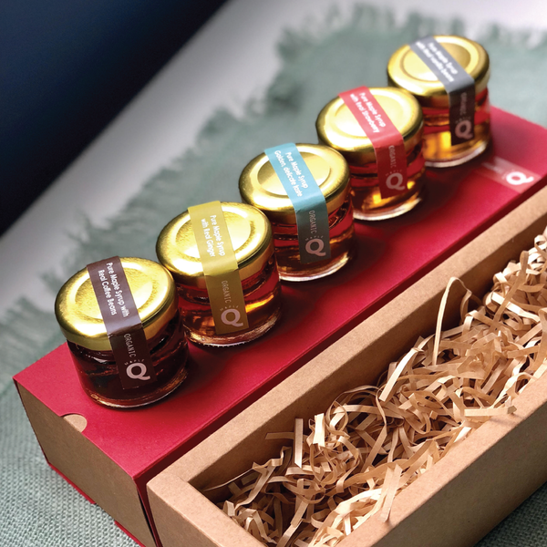 Maple Q Tasting sample set 30g x 5 - mcot