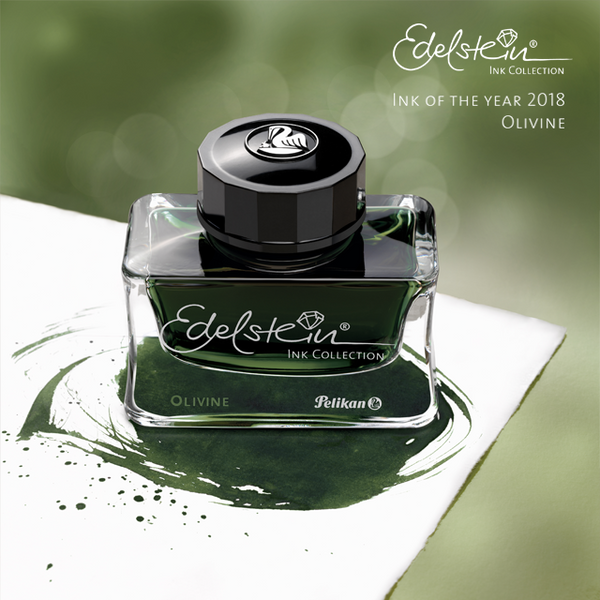 NEW EDELSTEIN® INK OF THE YEAR 2018 OLIVINE