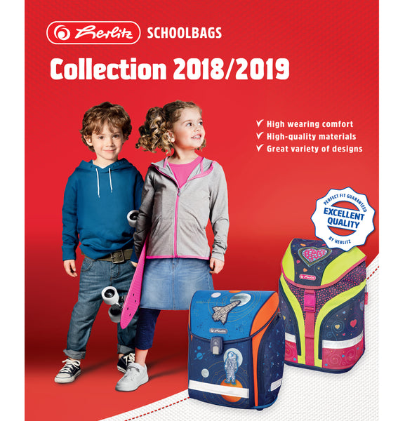 HERLITZ SCHOOLBAGS & ACCESSORIES COLLECTION 2018/2019!