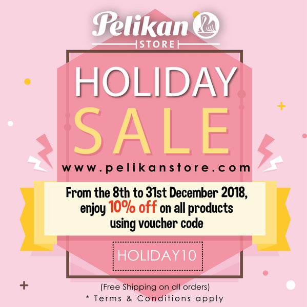 HOLIDAY SALE AT PELIKAN STORE ONLINE