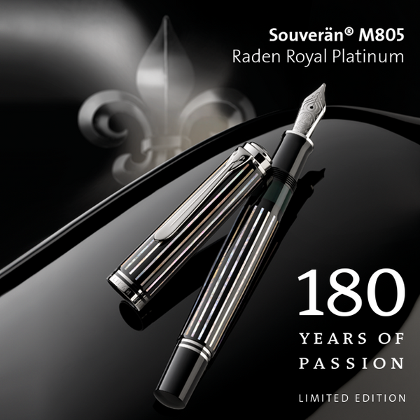 LIMITED EDITION SOUVERÄN® M805 RADEN ROYAL PLATINUM