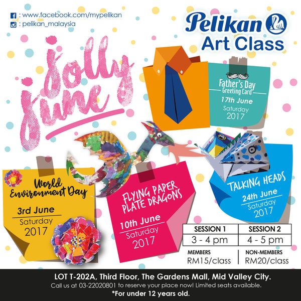 JOLLY JUNE ART CLASSES