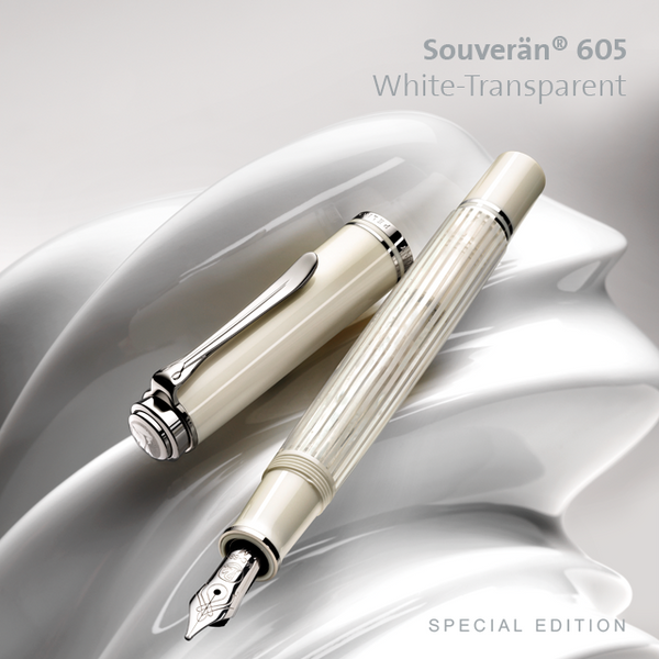 SPECIAL EDITION SOUVERÄN® 605 WHITE-TRANSPARENT