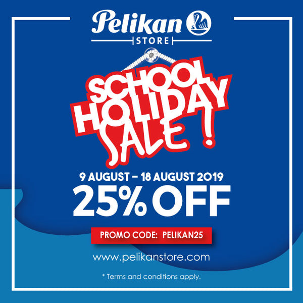 SCHOOL HOLIDAY SALE 9 - 18 AUGUST 2019!