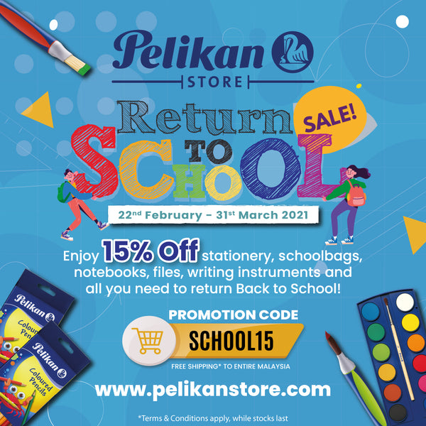 RETURN TO SCHOOL SALE