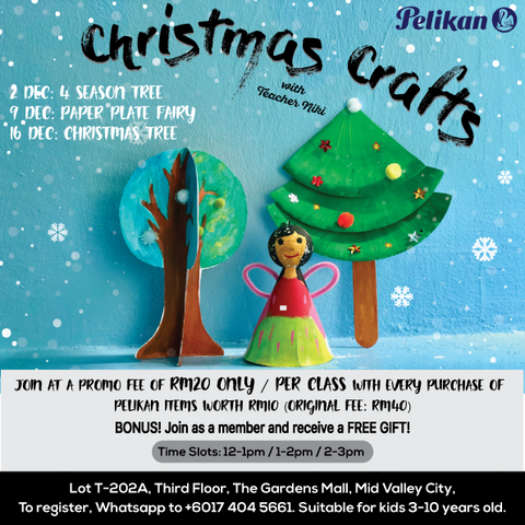 Christmas Crafts For 1 Year Olds.Christmas Crafts Art Class Pelikan Store Online