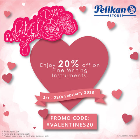 Valentine S Day Love Is In The Air Pelikan Store Online
