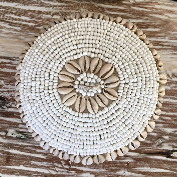 Circle Of Love Cowrie Basket