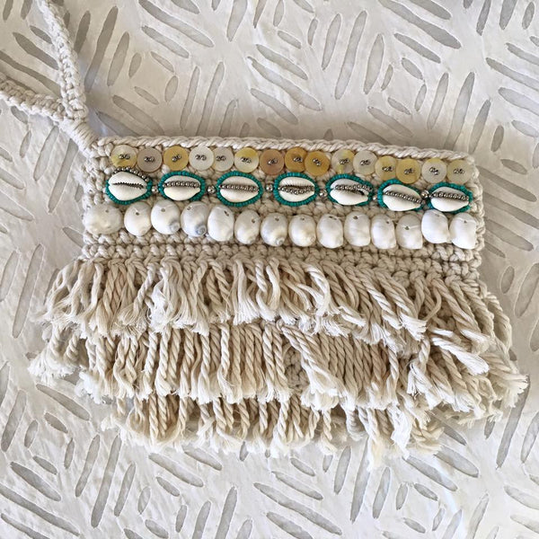 Cowie Shell Love Clutch