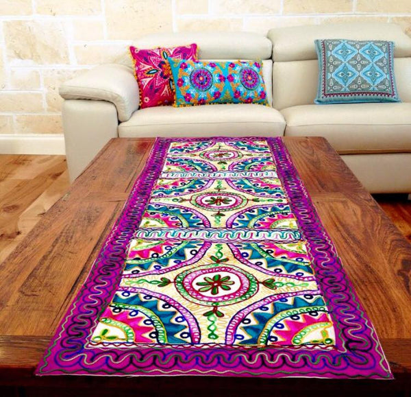 Indian Embroidered Tapestry