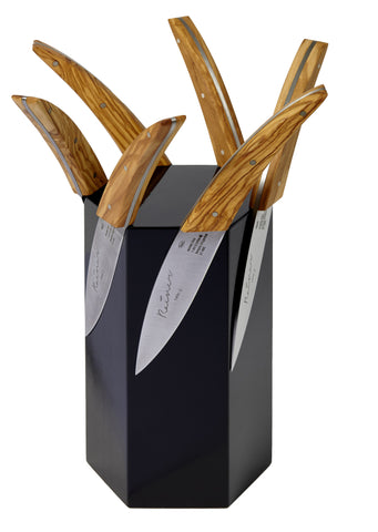 Rainer Knives Display Wood Block