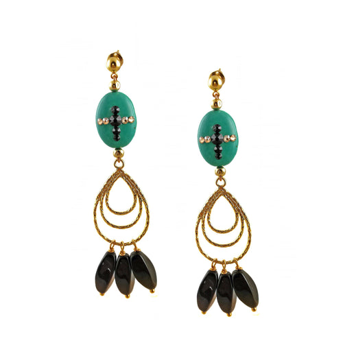 ANASTASIA Earrings -maria-moyseos