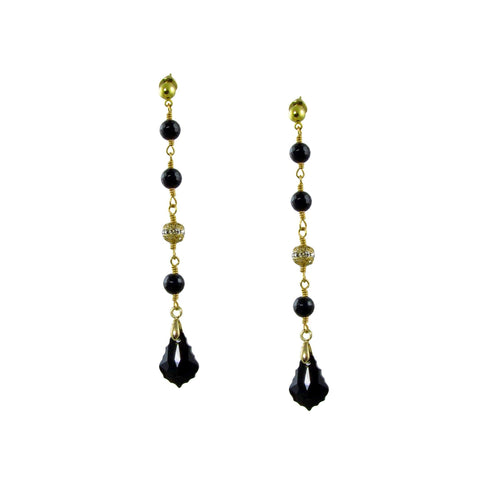 Aliki Baroque Earrings -maria-moyseos