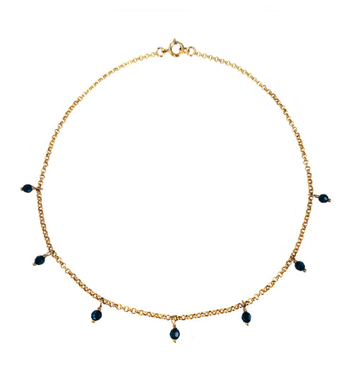LELA 14K Gold Filled -maria-moyseos