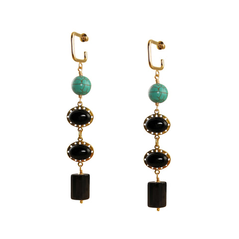 EMILY 14K Gold Filled crystal Earrings
