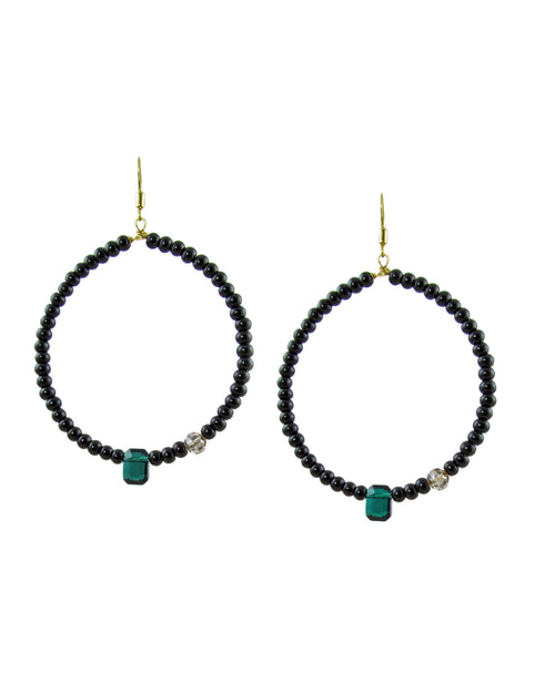 LIANA Hoop Earrings -maria-moyseos