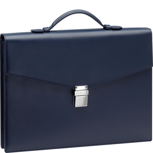 MEISTERSTÜCK Briefcase Single Gusset Small Navy 114524