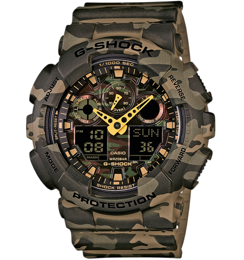 GA-100CM-5AER Casio watch