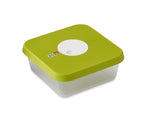 Storage container with datable lid square 1.2 L